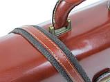 Портфель из натуральной кожи TOMSKOR Коричневый (81577), фото 5