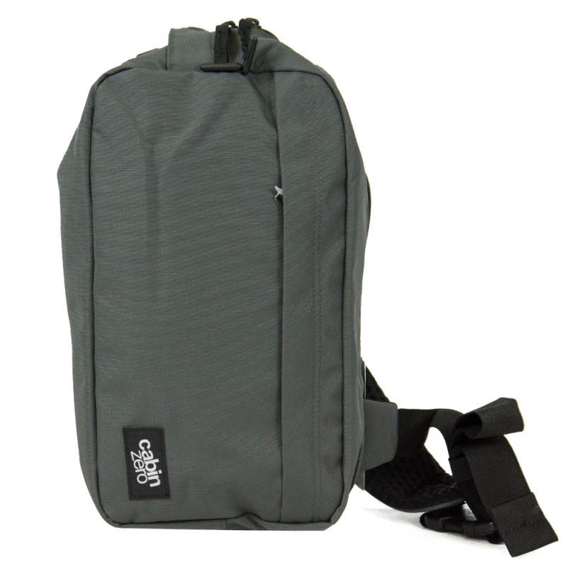 Рюкзак мужской с отслеживанием местоположения Великобритания 19*33*10 см. серый 2201567