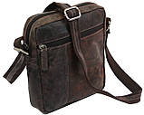 Мужская кожаная сумка Always Wild Коричневый (243-DIS Brown), фото 2