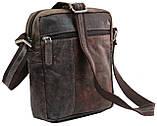 Мужская кожаная сумка Always Wild Коричневый (243-DIS Brown), фото 3