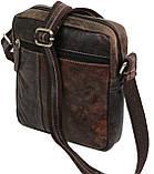 Мужская кожаная сумка Always Wild Коричневый (243-DIS Brown), фото 5