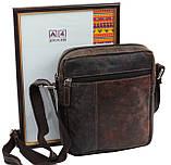Мужская кожаная сумка Always Wild Коричневый (243-DIS Brown), фото 7