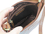 Сумка женская кожаная Lorenti Коричневый (TIL-28 Cognac), фото 6
