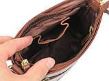 Сумка женская кожаная Lorenti Коричневый (TIL-28 Cognac), фото 7