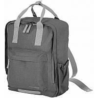 Сумка рюкзак мужская Германия 30*35*15 см. серая 2201609