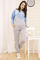Костюм женский 167R29 цвет Серо-голубой