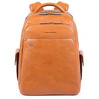 Шкіряний чоловічий рюкзак Італія 33*43*23 див. коричневий 2201710