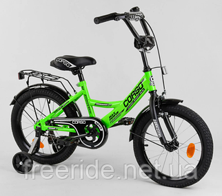 """Детский велосипед CORSO CL-16"""" салатовый"""