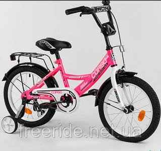 """Детский велосипед CORSO CL-16"""" розовый"""