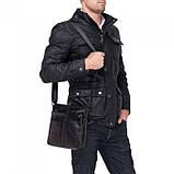 Мужская Сумка через плечо TIDING BAG 8030A Черный (8030A), фото 4