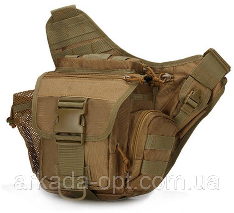 Сумка штурмовая тактическая Battler v.1 HG00240 Оливковый (tau_krp596_00240)