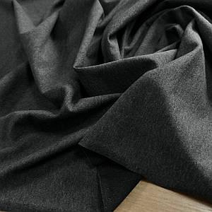 Футер двунітка темно-сірий меланж, Туреччина, 180см