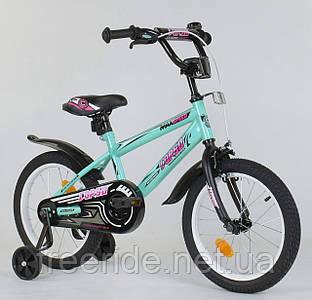 "Детский Велосипед Aerodynamic CORSO EX-16"" N"