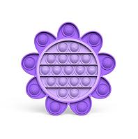 Силиконовая детская игрушка поп ит pop it для развития мелкой моторики рук в форме цветка