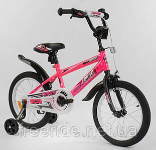"""Детский Велосипед Aerodynamic CORSO EX-16"""" N розовый"""