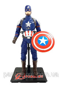 Коллекционные фигурки Марвел 8469, 7 видов (Captain America)