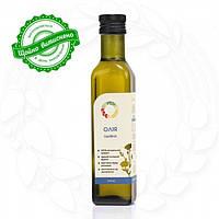 Льняное сыродавленное масло в бутылке