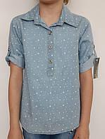 Сорочка для дівчинки B. B. W. kids 1698 джинс зірочки
