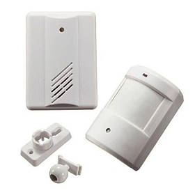 Бездротовий дверний дзвінок з датчиком руху Leshp DD1407 Білий КОД: 100268