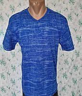 Мужская футболка 54 размер Электрик космос