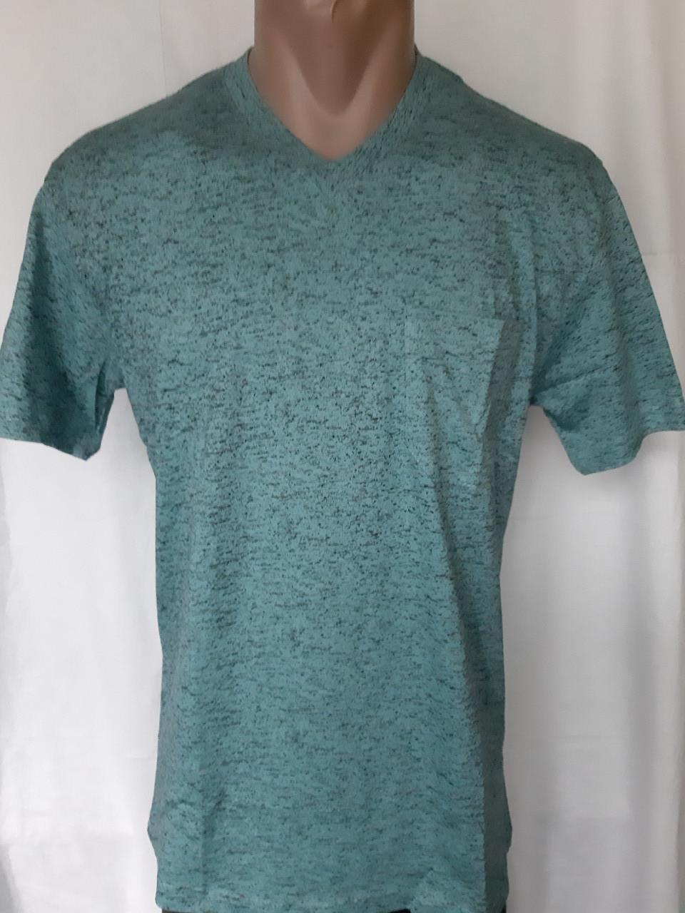 Чоловіча футболка 50 розмір Смарагдовий сніжок