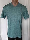 Чоловіча футболка 50 розмір Смарагдовий сніжок, фото 2