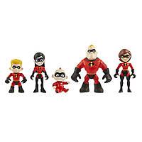 Набір фігурок з мультсеріалу Суперсімейка. Ігровий набір The Incredibles 5 іграшок