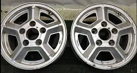 Б/у Автомобильный диск RONAL 6Jx14.