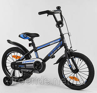 """Детский Велосипед CORSO 16"""" ST Aerodynamic с усиленными спицами"""