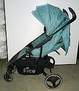 Б/У Коляска Fico. Прогулочная коляска Fico сине-зеленого цвета. Легкая коляска Fico