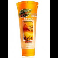 Скраб для особи Wokali Smoothing Moisturizing Honey Almond 120 мл