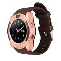 Смарт годинник Smart Watch V8 з 3 екранними циферблатами, фото 1