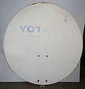 Б/У Тарелка спутниковая Yota 80 см. Спутниковая антенна Yota погнутая