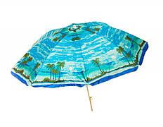 Зонт пляжный d 170 см, 8 спиц. Зонт для торговли на улице. Зонт пляжный большой. Торговй зонтик. Зонт для