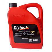 Моторное масло Divinol Syntholight FE 5W-20 5л. Масло для мотора 5W-20