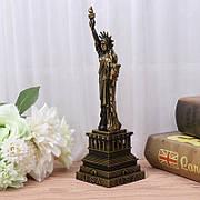 Статуэтка Статуя Свободы 30 см. Металлическая скульптура Статуя Свободы. Сувенир Statue of Liberty