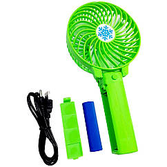 Ручной складной вентилятор USB с аккумулятором Mini Hand Fan