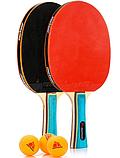 Набір для настільного тенісу Meteor Zephyr 5 предметів (15021), фото 3