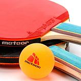 Набір для настільного тенісу Meteor Zephyr 5 предметів (15021), фото 4