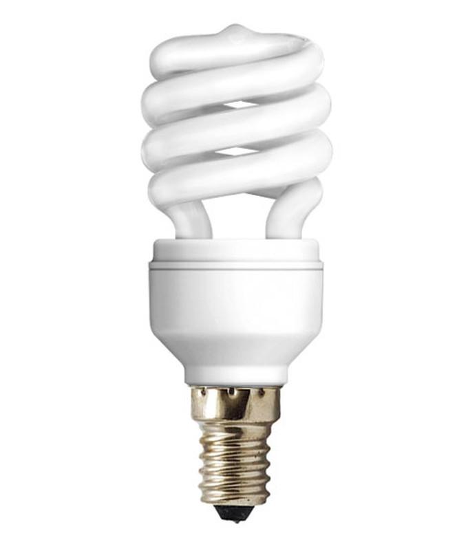 Лампа енергозберігаюча DELUX 220v 13w 2700K E14 SlimSemi-sp