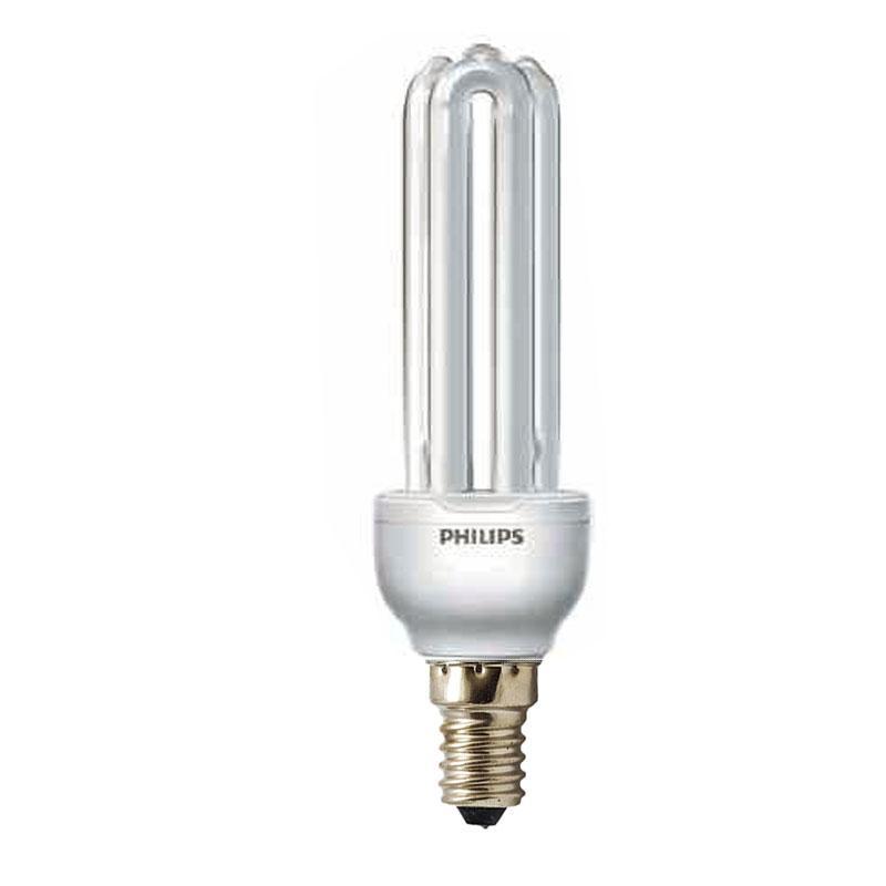 Лампа енергозберігаюча PHILIPS 9w/827 GY Economy E14