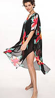 Пляжное платье-туника большие размеры