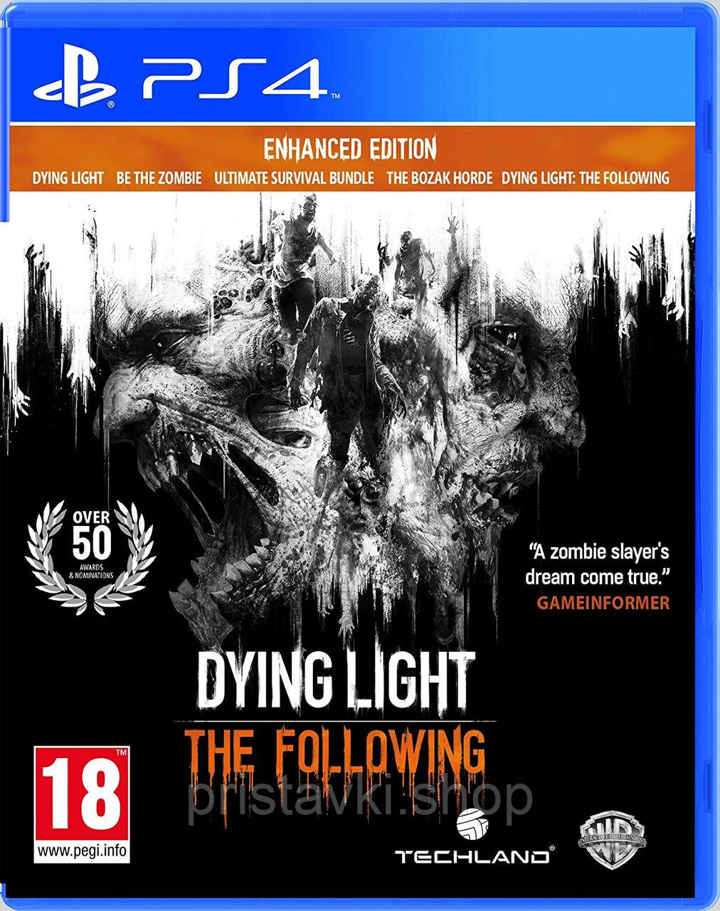 Dying Light: The Following PS4 \ PS5