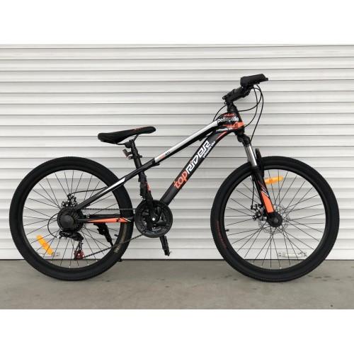 Подростковый велосипед горный одноподвесной 24 дюйма 14 рама Топ Райдер