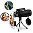Монокуляр Panda 40x60 с Треногой и Клипсой для Смартфона бинокль Моноколь Панда Подзорная Труба на Природу, фото 6