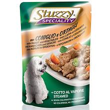 Влажный корм с кроликом и овощами Штузи Stuzzy Speciality Dog Rabbit Vegetables для собак 100 г