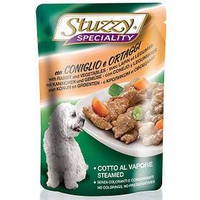 Вологий корм з кроликом та овочами Штузи Stuzzy Speciality Dog Rabbit Vegetables для собак 100 г
