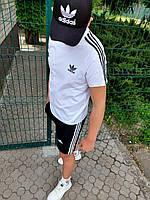 Летний костюм шорты и футболка Adidas Адидас. Летний спортивный костюм шорты и футболка Adidas Адидас