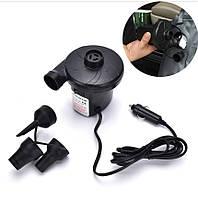 Электрический насос компрессор YF-207 12V от автомобильного прикуривателя (3439)