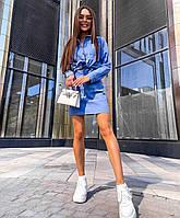 """Костюм двійка жіночий молодіжний Спідниця+ Сорочка, розмір 42-46 (3ол) """"NICOLE"""" недорого від прямого постачальника"""